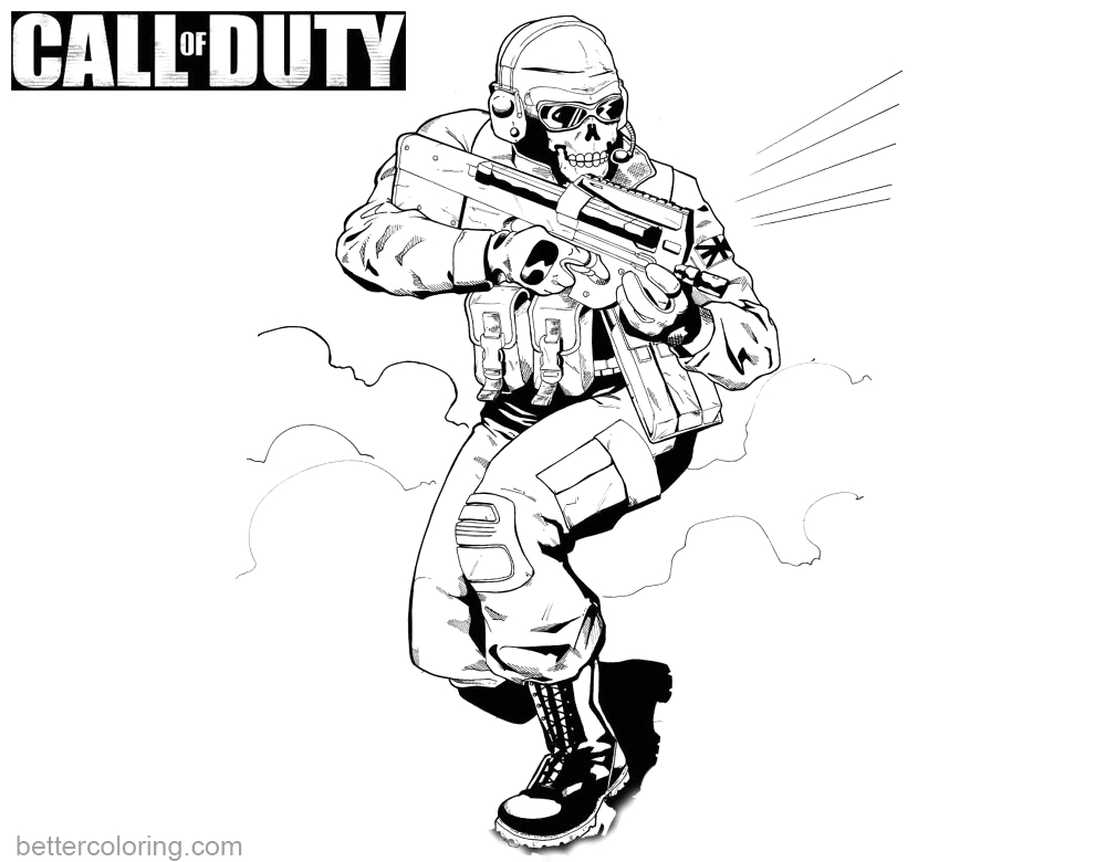 call of duty black ops coloring pages