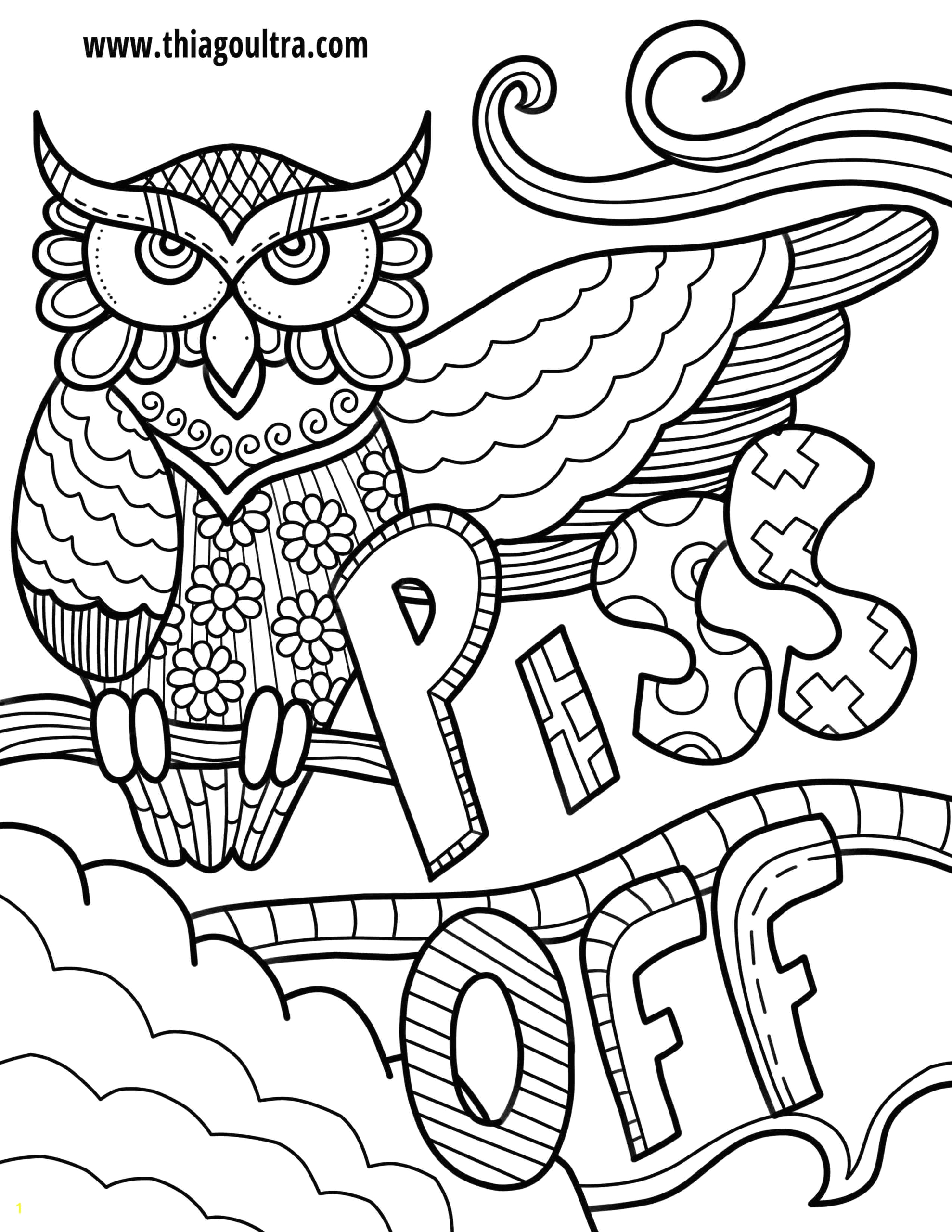 Free Printable Swear Word Coloring Pages Pdf Free Printable Coloring Pages for Adults Ly Swear Words