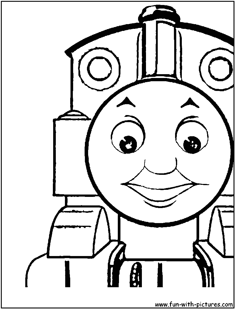 thomas the tankengine coloring page