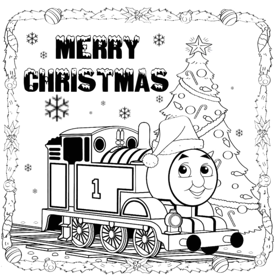 thomas the train coloring pages printable