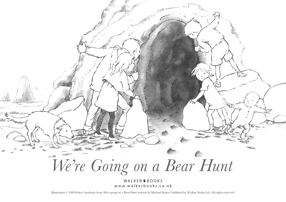 Going On A Bear Hunt Coloring Page We're Going On A Bear Hunt Colouring Sheet Scholastic