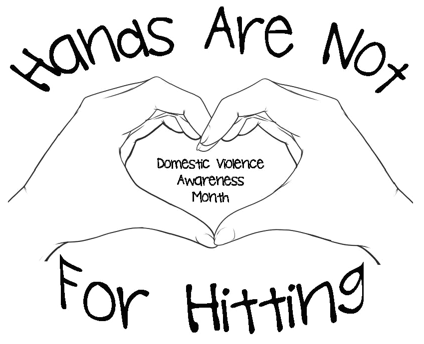 Hands are Not for Hitting Coloring Page Domestic Violence Coloring Pages at Getdrawings