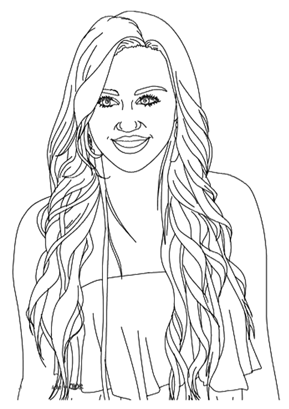 Hannah Montana Coloring Pages Free to Print Hannah Montana Coloring Pages & Books Free and