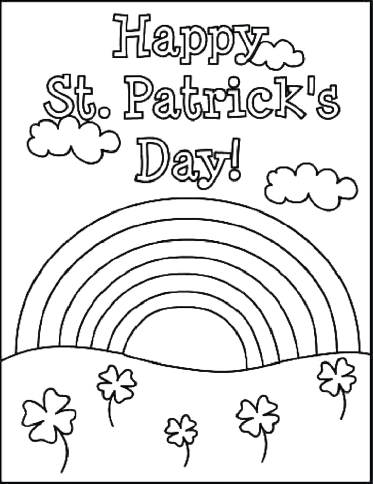 Hello Kitty St Patricks Day Coloring Pages Hello Kitty Coloring Pages St Patricks Day In 2020 with