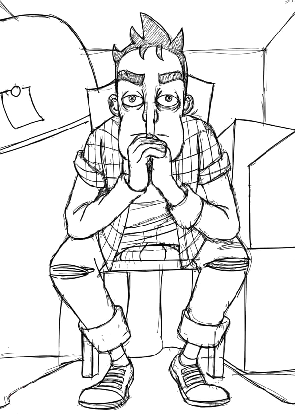 coloring pages hello neighbor