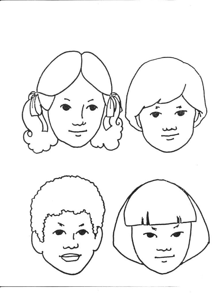 I am a Child of God Black and White Originals Coloring Pages