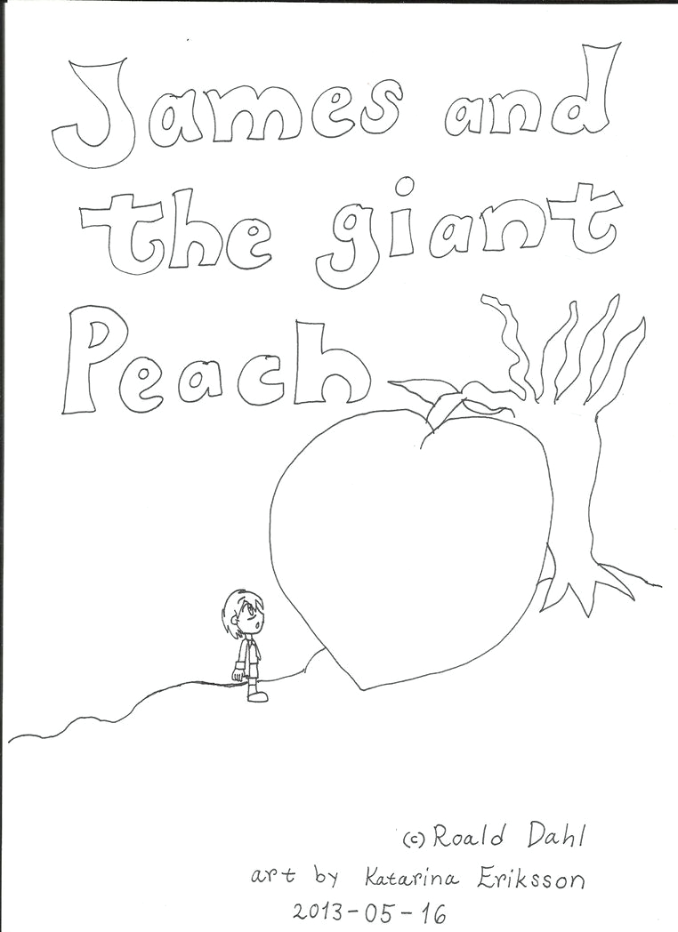 james and the giant peach coloring pages