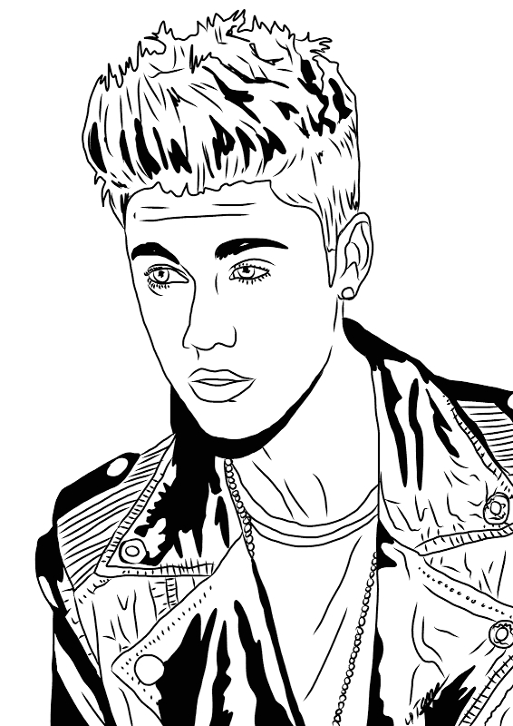 Justin Bieber Coloring Pages that You Can Print Justin Bieber Pictures You Can Print Free Google Search