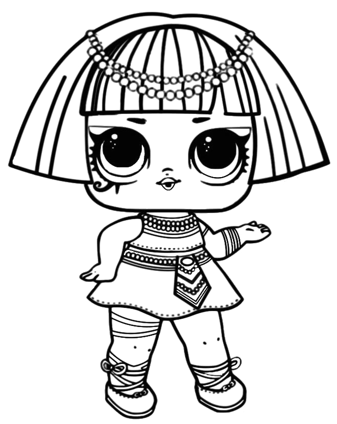 big sister coloring pages