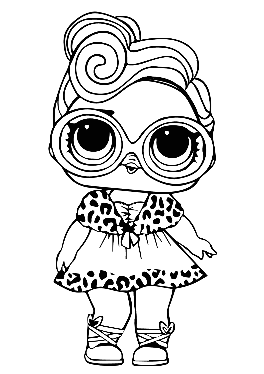 Lol Coloring Pages that You Can Print 30 Free Printable Lol Surprise Doll Coloring Pages