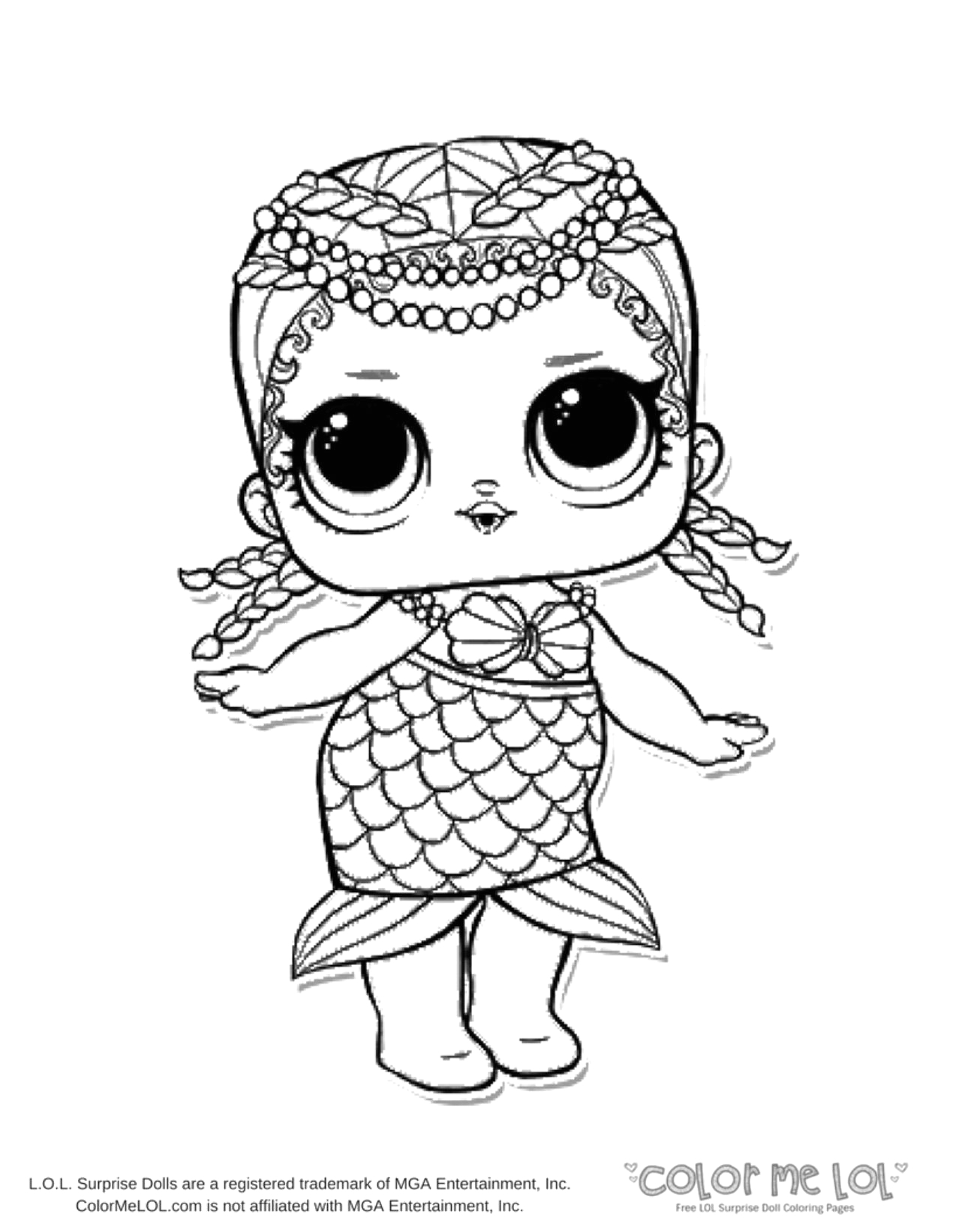 doll coloring pages