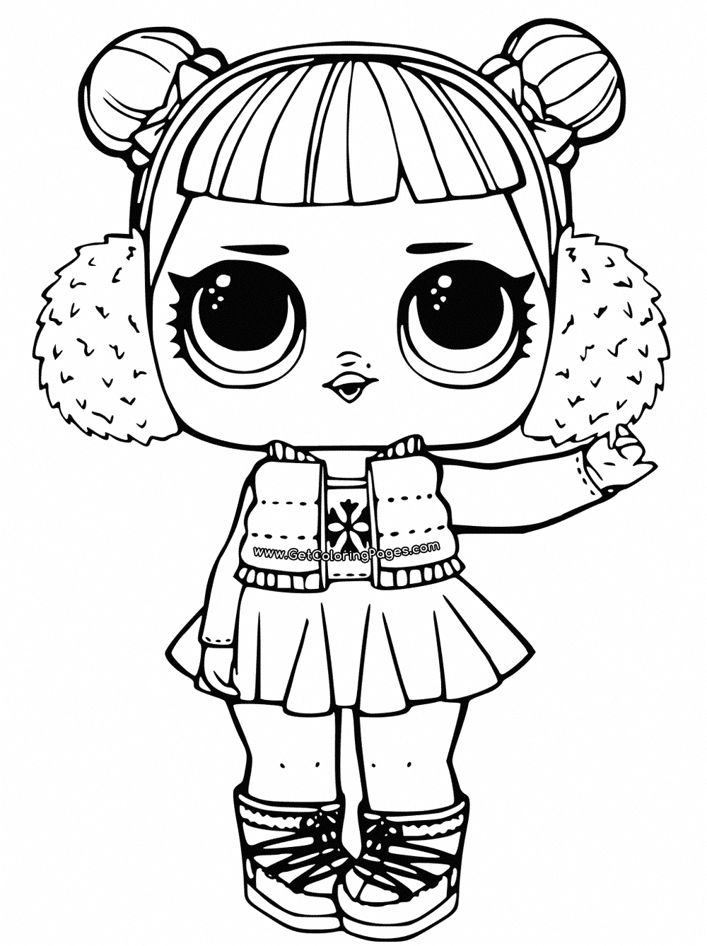 surprise dolls coloring pages print out for free all the series