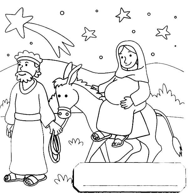 mary and joseph going to egypt