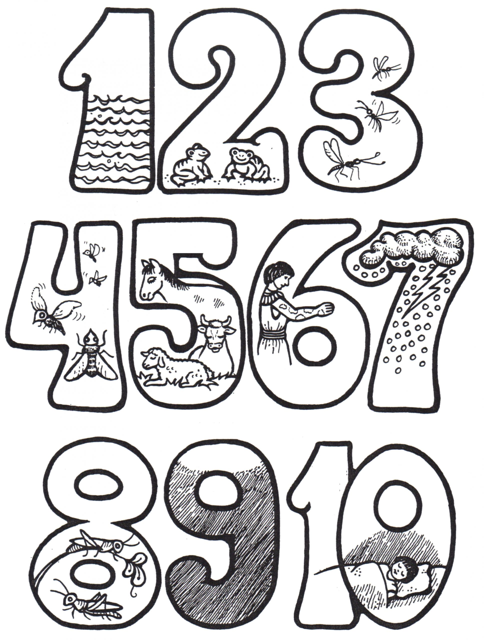 Moses and the 10 Plagues Coloring Pages Moses and the 10 Plagues Coloring Pages – Learning How to Read