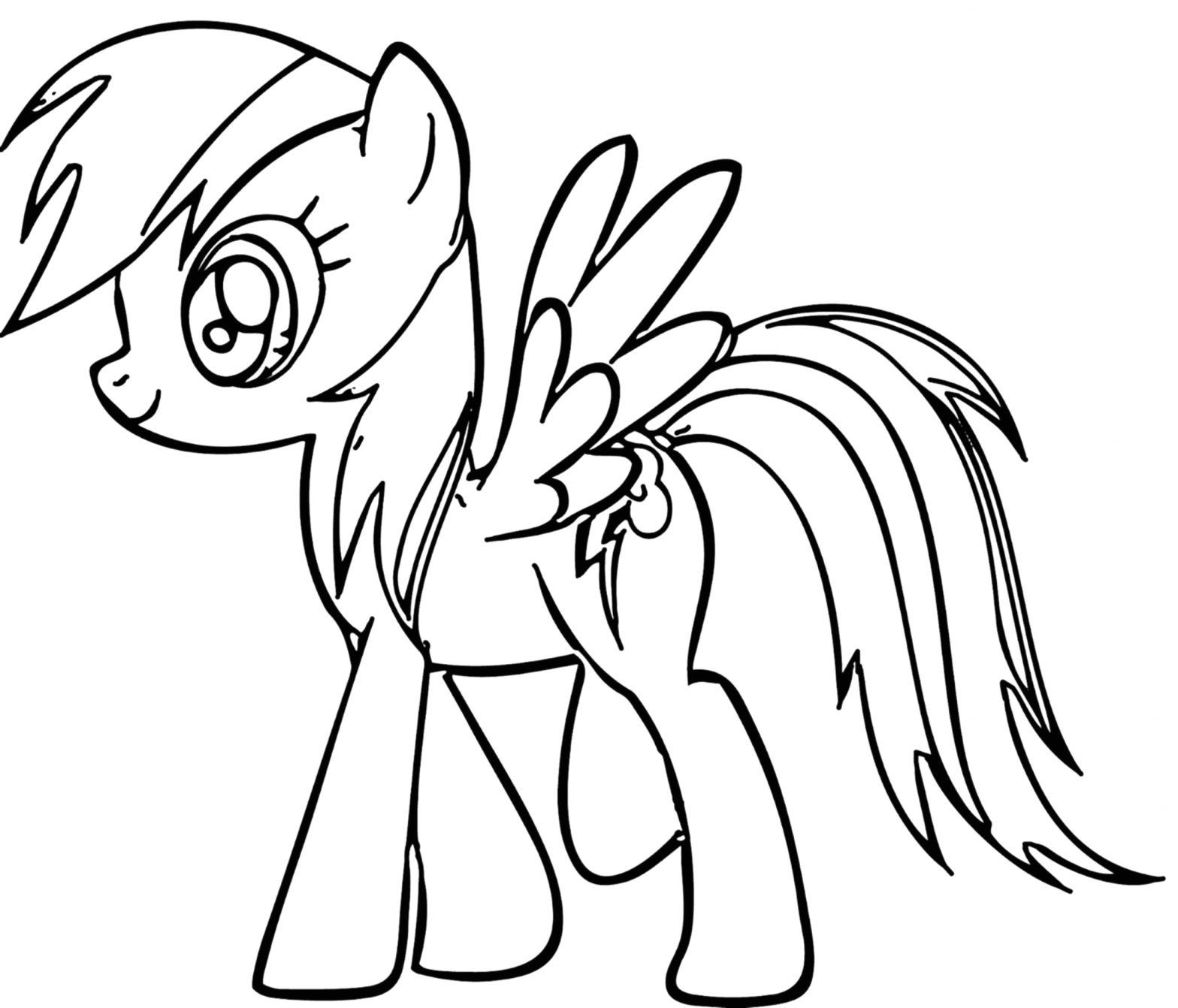 My Little Pony Coloring Pages Rainbow Dash Rainbow Dash Coloring Pages Best Coloring Pages for Kids