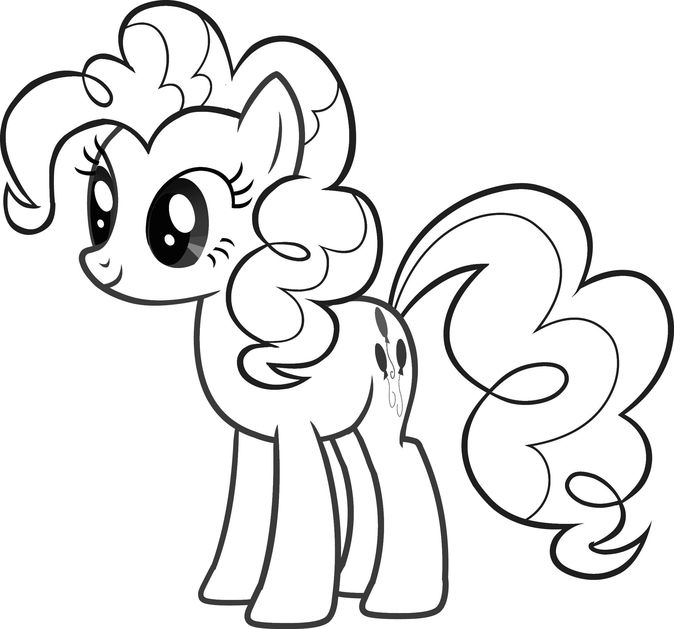 My Little Pony Friendship is Magic Coloring Pages My Little Pony Colouring Sheets Pinkie Pie My Little