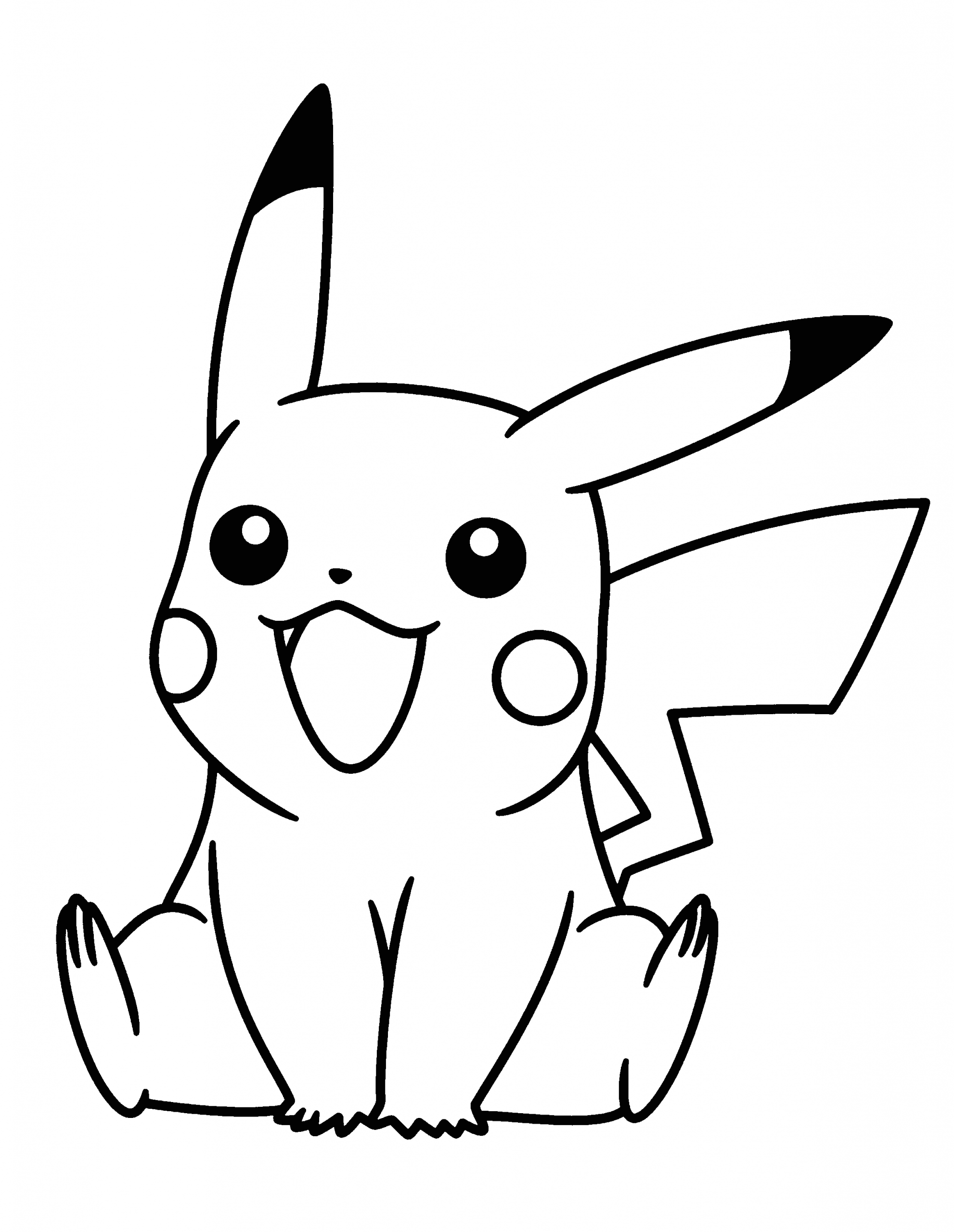 Pokemon Characters Black and White Coloring Pages Pokemon Characters Black and White Coloring Pages
