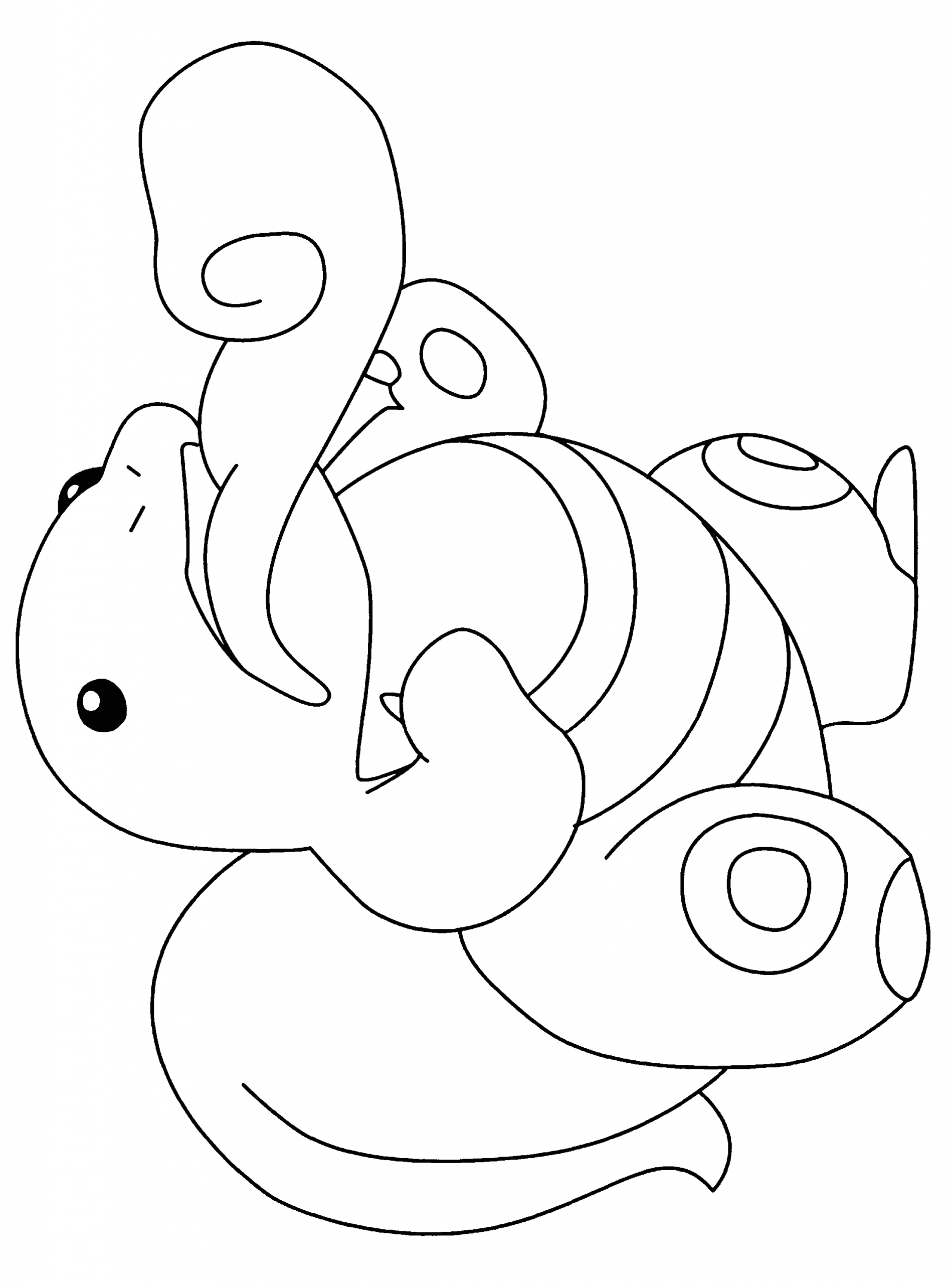 pokemon coloring pages 9