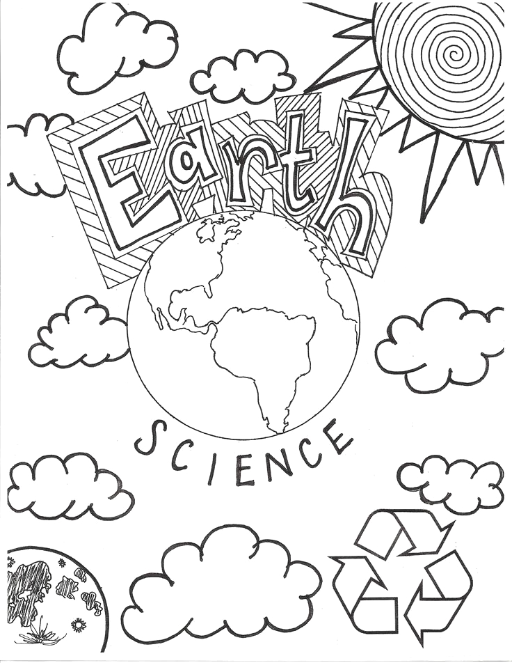 Science Coloring Pages for Middle School Pdf Earth Science Coloring Pages and Science On Pinterest