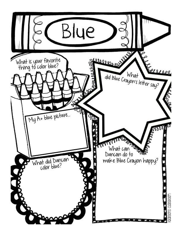 The Day the Crayons Came Home Coloring Page the Day the Crayons Quit Coloring Page Coloring Home