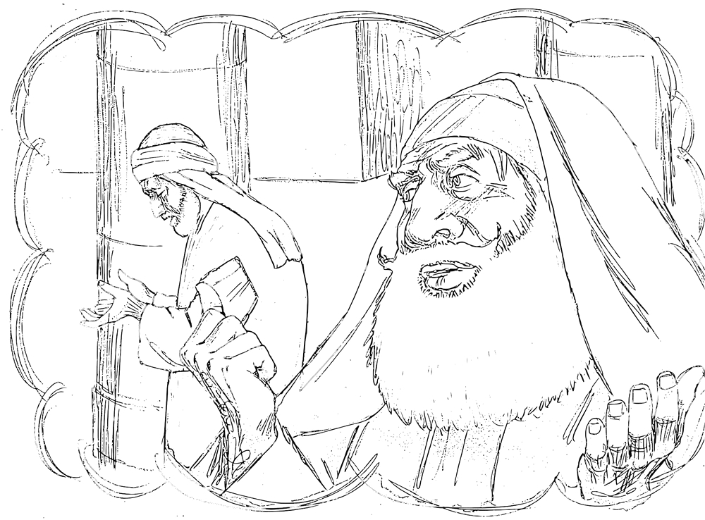 pharisee tax collector coloring pages