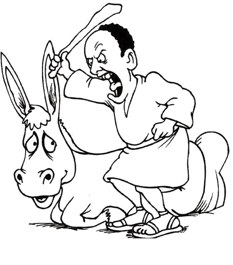 bible balaam and the talking donkey