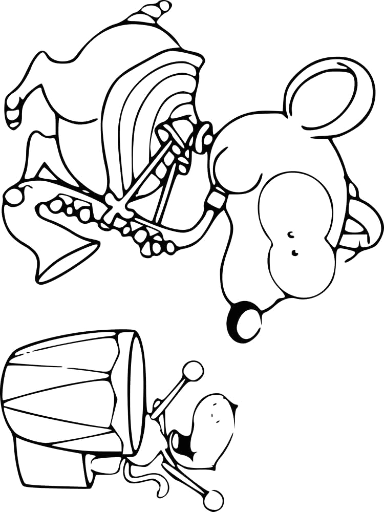 Toopy and Binoo Coloring Pages to Print toopy and Binoo Coloring Pages Free Printable toopy and