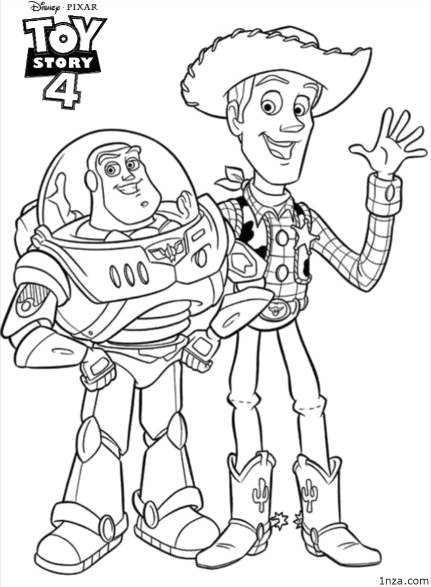 Toy Story 4 Coloring Pages to Print 18 Free Printable toy Story 4 Coloring Pages 1nza