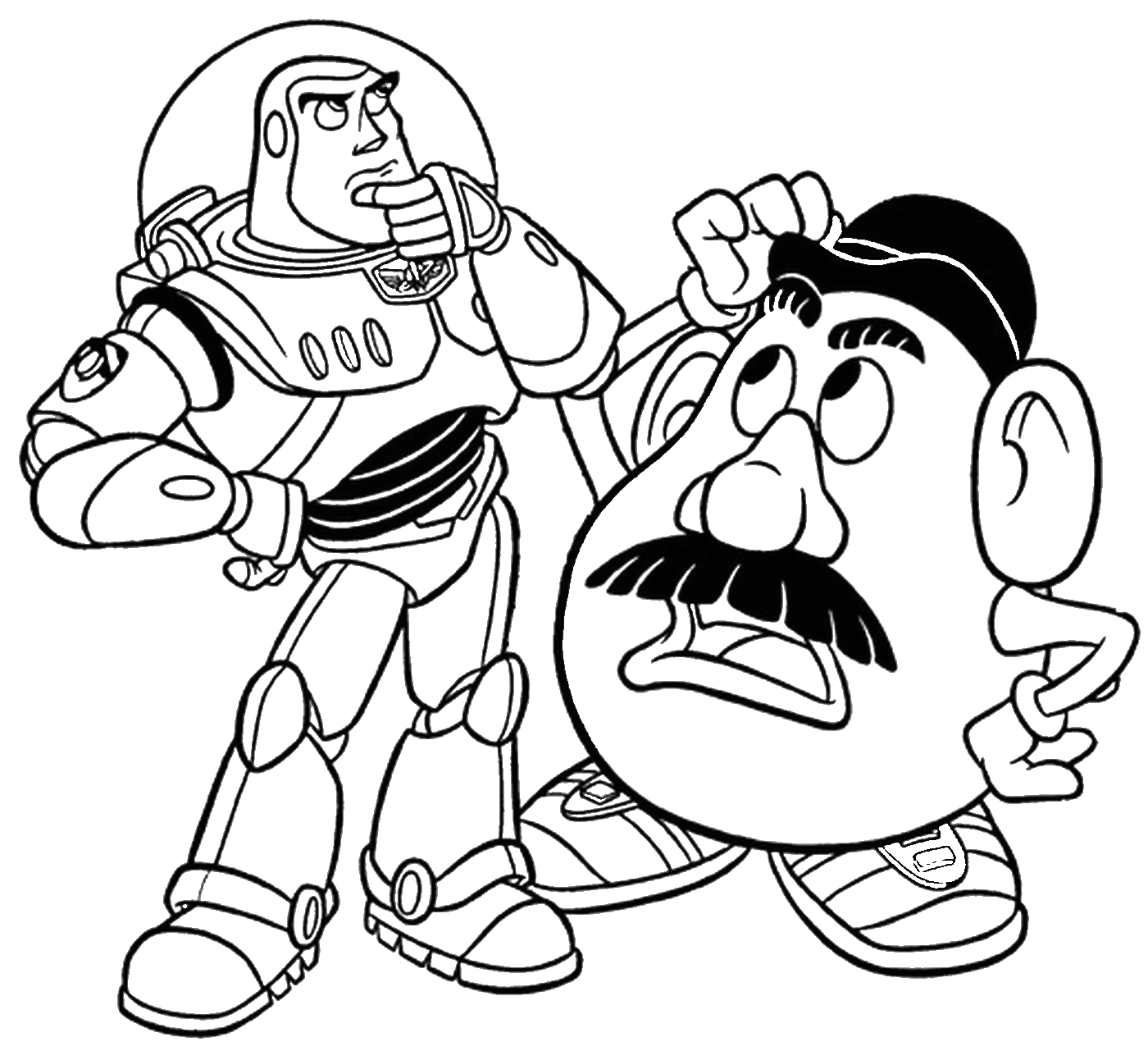 Toy Story Coloring Pages Free to Print toy Story Coloring Pages