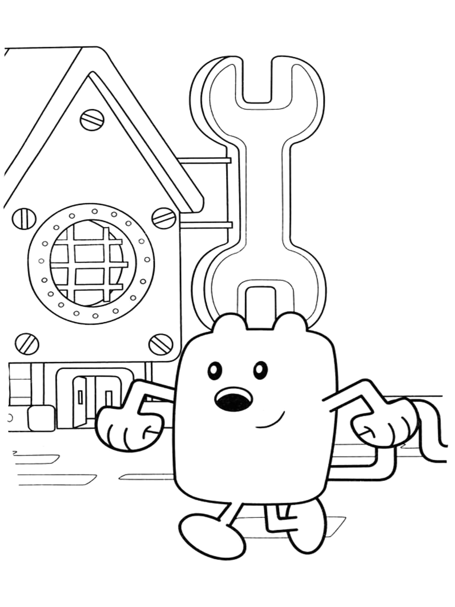 wow wow wubbzy coloring pages print for free