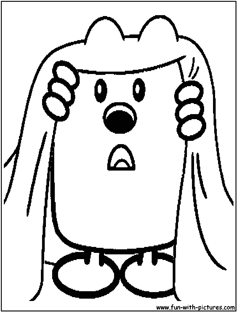 Wow Wow Wubbzy Coloring Pages to Print Wow Wow Wubbzy Printable Coloring Pages Coloring Home