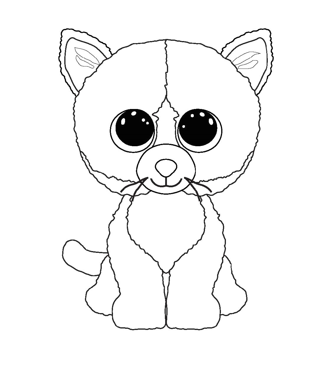 Beanie Boo Coloring Pages that You Can Print Beanie Boo Coloring Pages for Kids