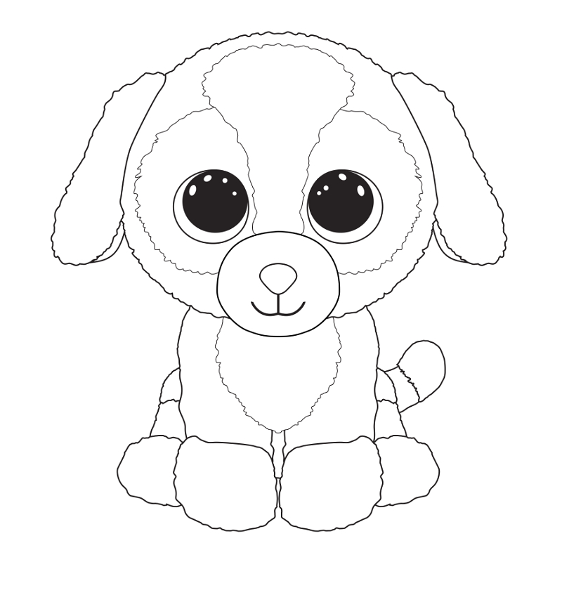 beanie boo coloring pages for kids