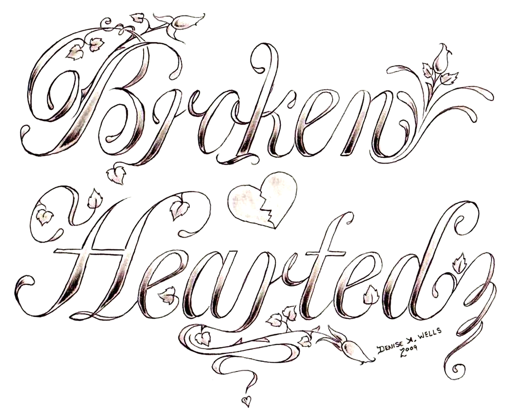 Broken Heart Tattoo Coloring Pages for Adults Pin On Feb 2016
