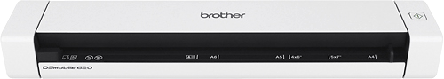 Brother Ds 620 Mobile Color Page Scanner White Brother Ds 620 Mobile Color Page Scanner White Ds 620