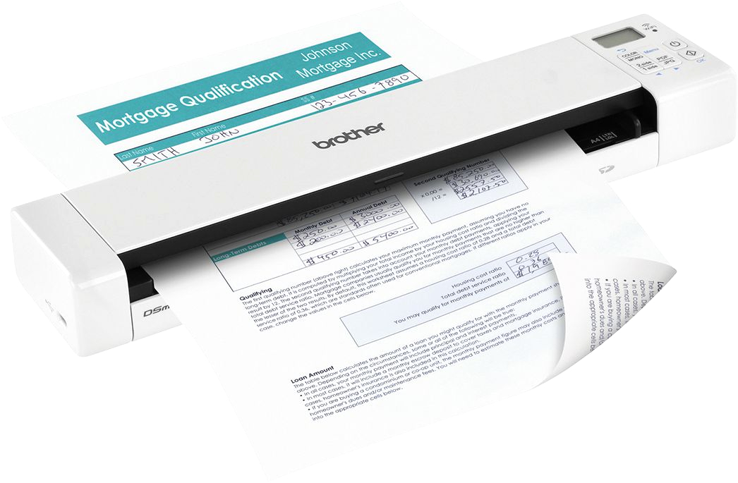 Brother Wireless Mobile Color Page Scanner Ds 920dw Brother Ds 920dw Wireless Duplex Mobile Color Page Scanner