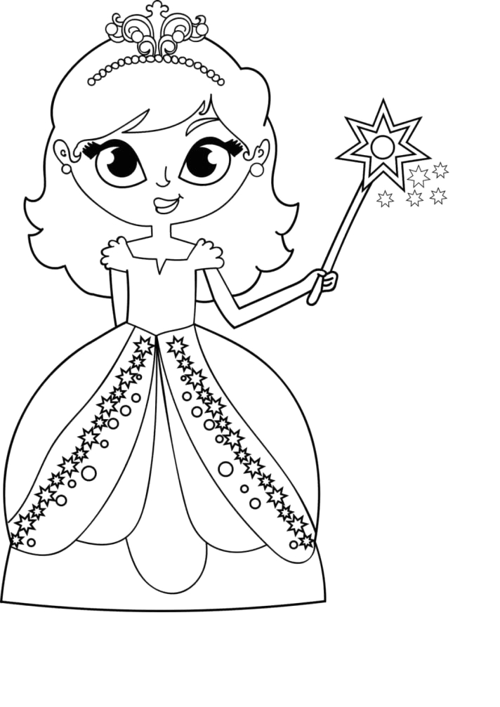 coloring pages for kids girls