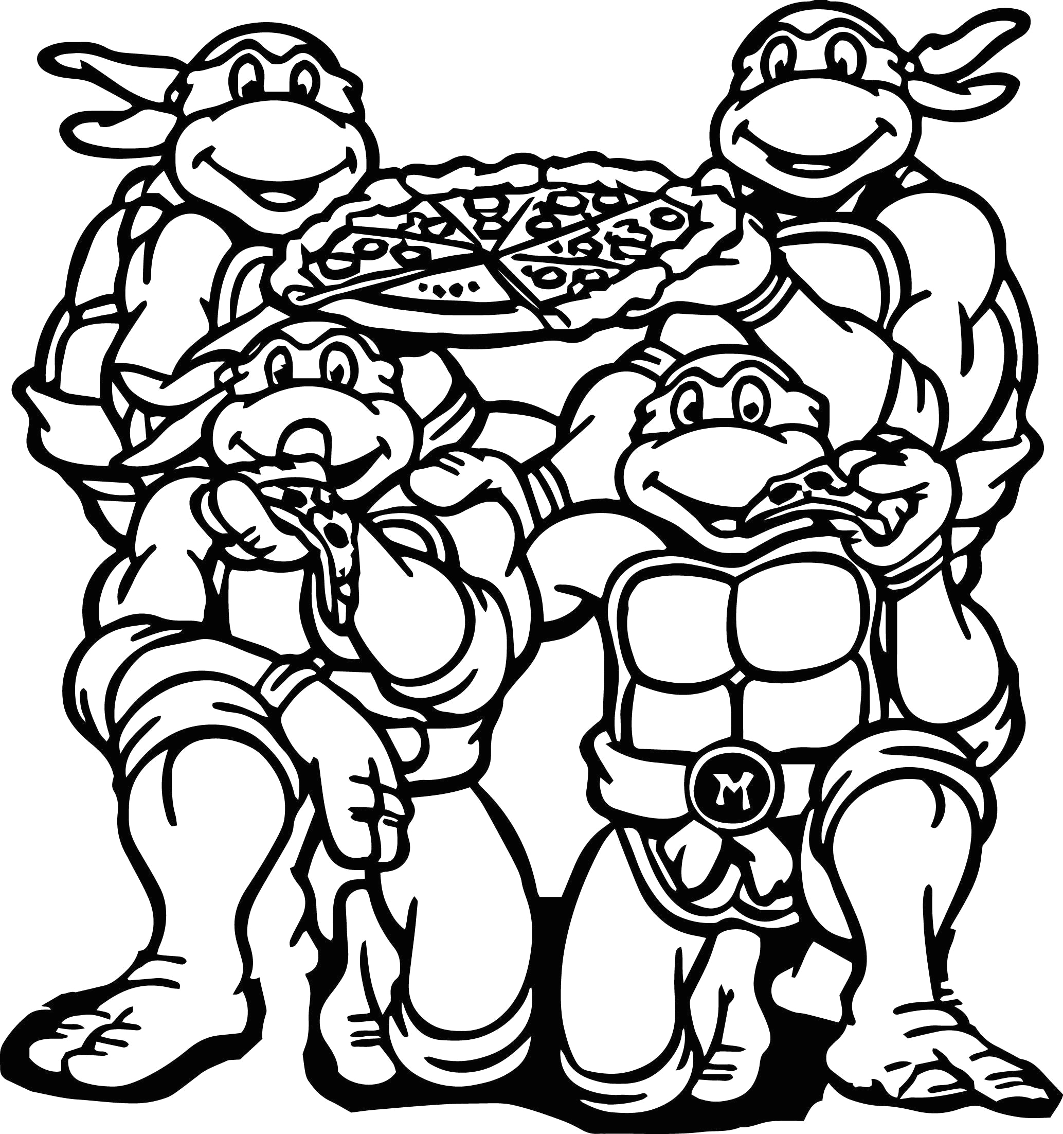 Coloring Pages for Teenage Mutant Ninja Turtles Teenage Mutant Ninja Turtles Coloring Pages Best