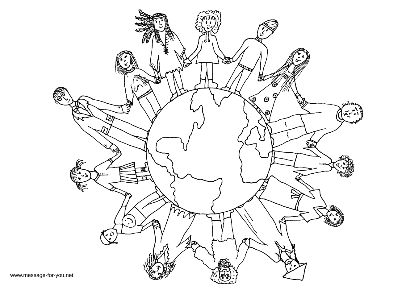 Coloring Pages Of Children Of the World Children the World Coloring Pages Bestofcoloring