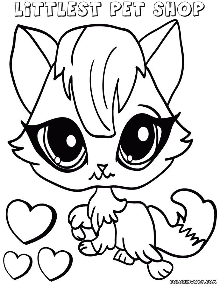 Coloring Pages Of Littlest Pet Shop Animals Get This Littlest Pet Shop Cute Animals Coloring Pages for