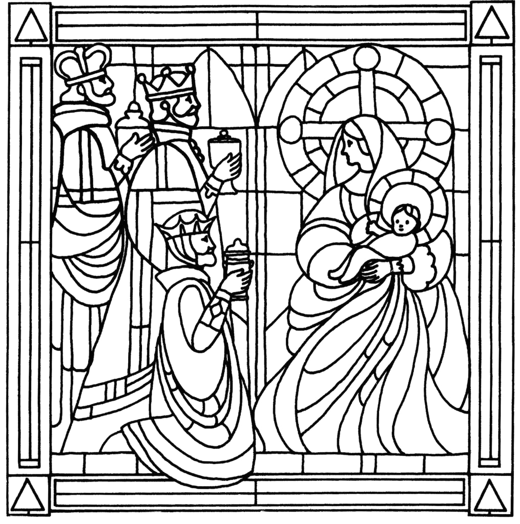 Coloring Pages that Look Like Stained Glass Coloring Pages that Look Like Stained Glass at