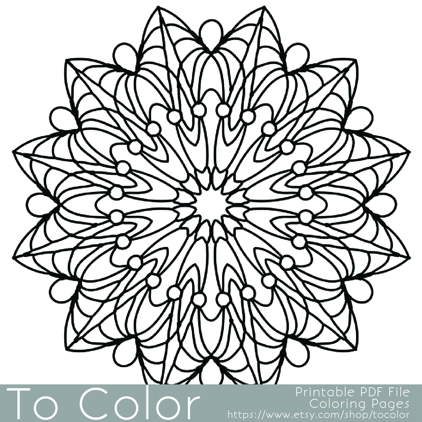 simple printable coloring pages for