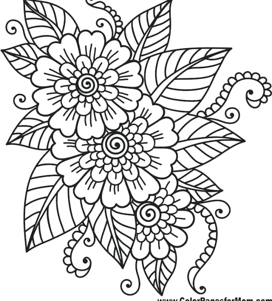 free coloring pages for adults with dementia