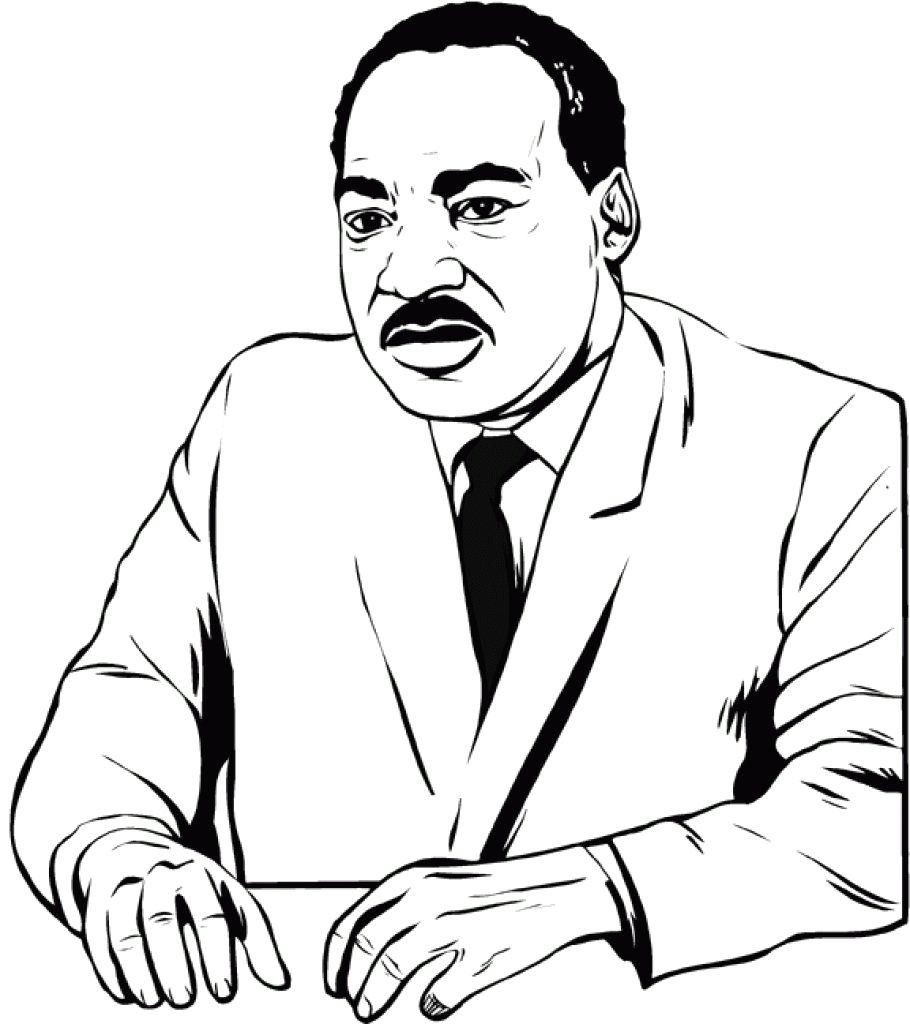 Free Coloring Pages Dr Martin Luther King Jr Free Printable Martin Luther King Jr Day Mlk Day