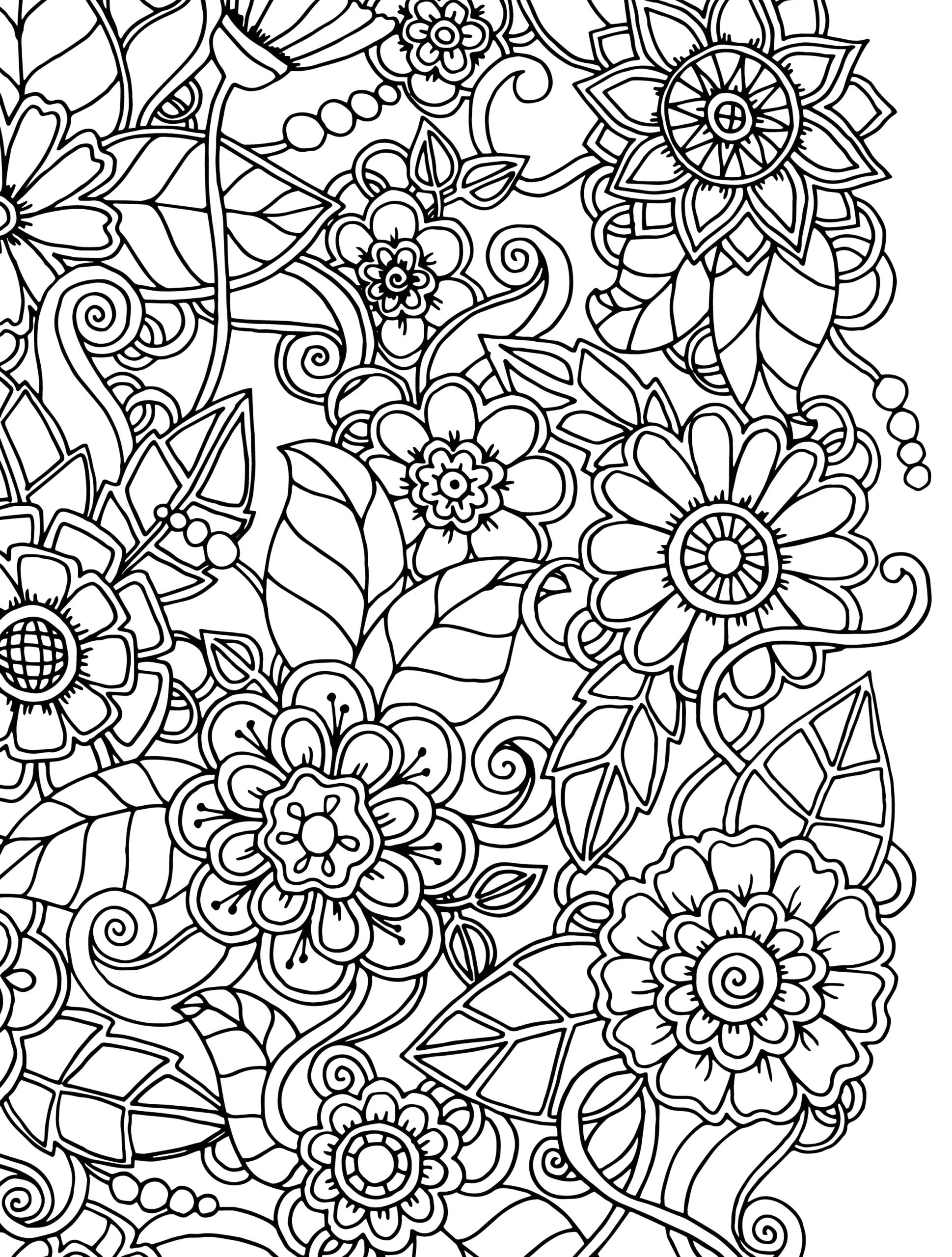 Free Coloring Pages for Adults with Dementia Coloring Pages for Dementia Patients Download