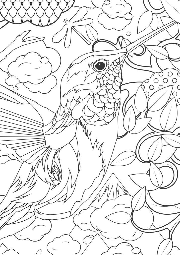 Free Coloring Pages for Kids and Adults Adult Coloring Pages Animals Best Coloring Pages for Kids