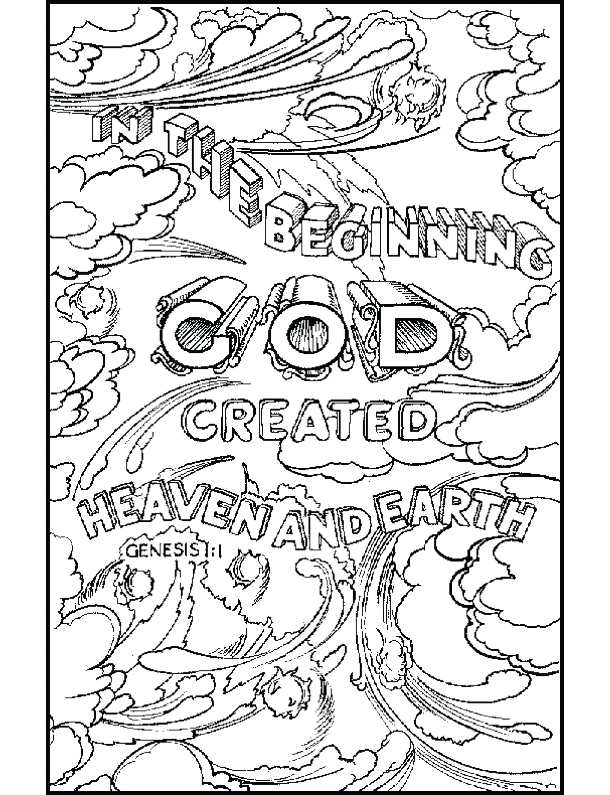gideon bible coloring pages