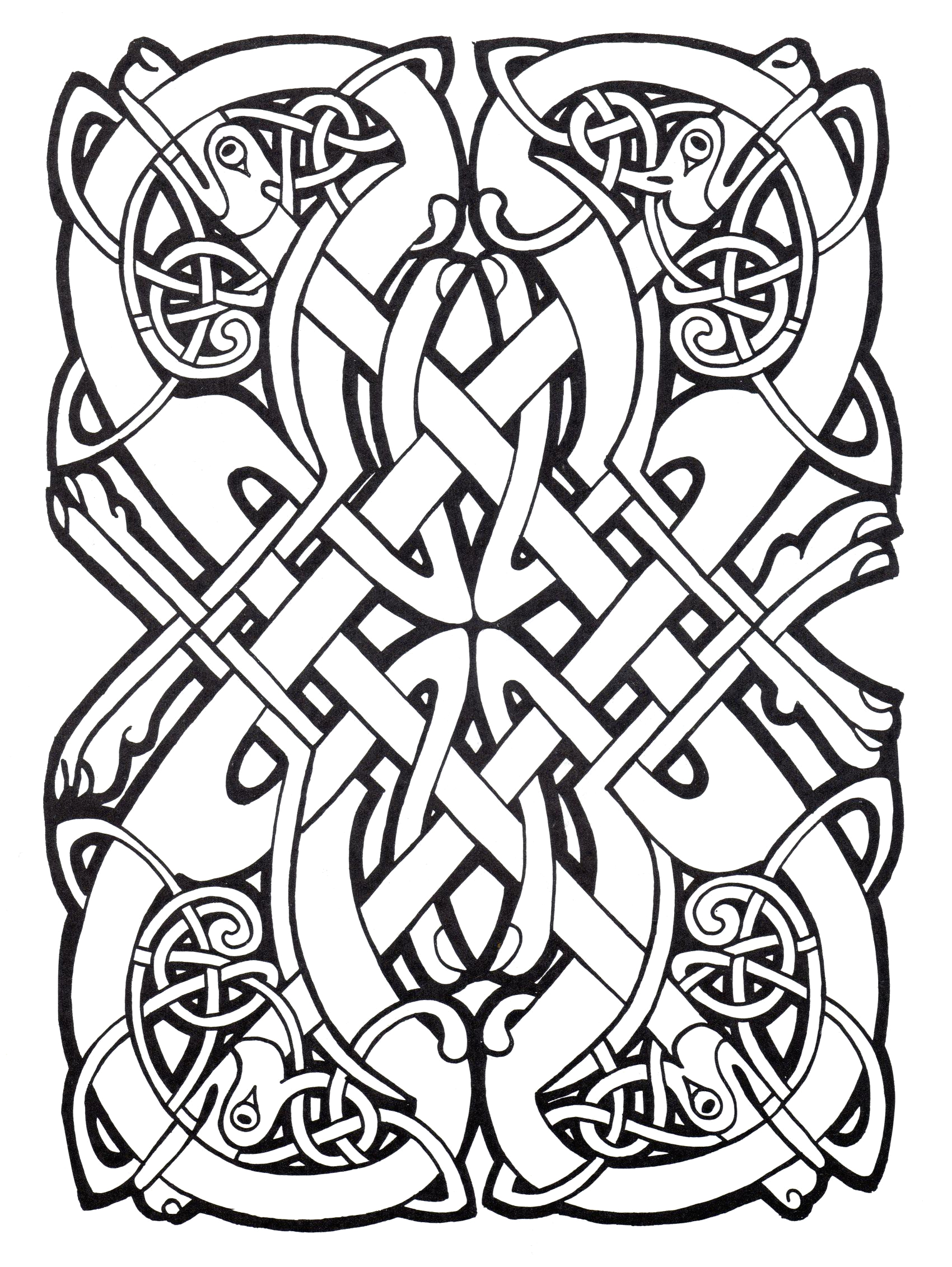 Free Printable Celtic Coloring Pages for Adults Celtic Coloring Pages Best Coloring Pages for Kids