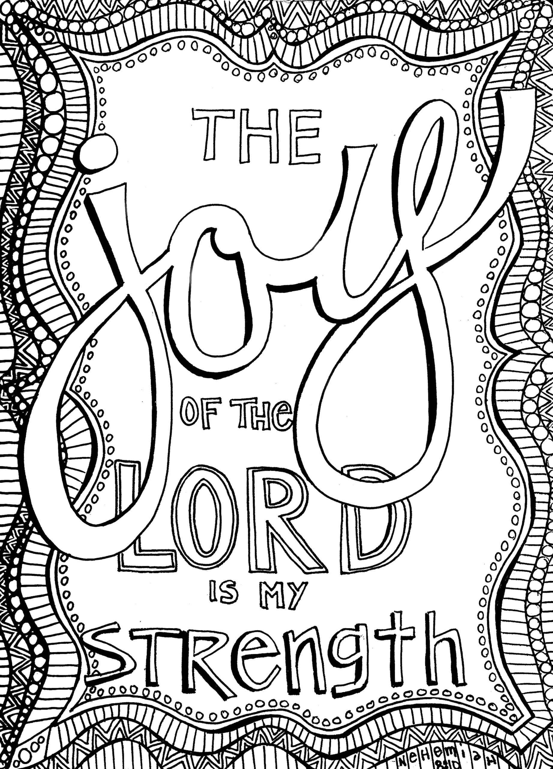 Free Printable Christian Coloring Pages for Adults Free Christian Coloring Pages for Adults Roundup