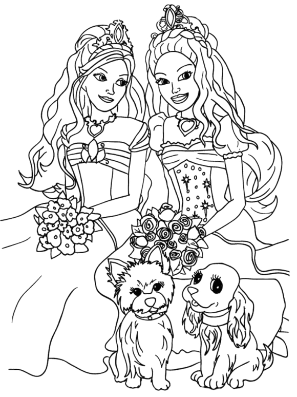 amusing coloring pages for older girls